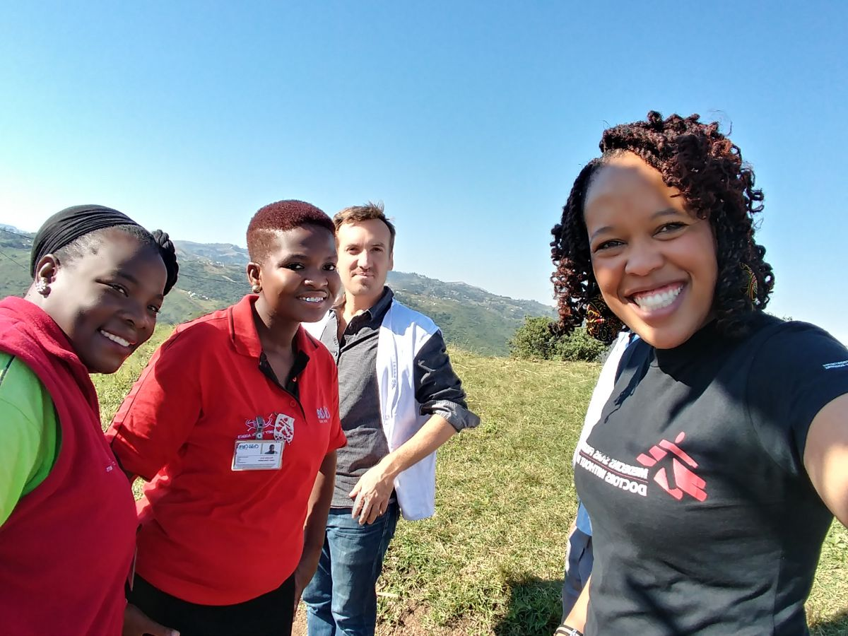 MSF, Doctors Without Borders, South Africa, KZN, Eshowe, HIV