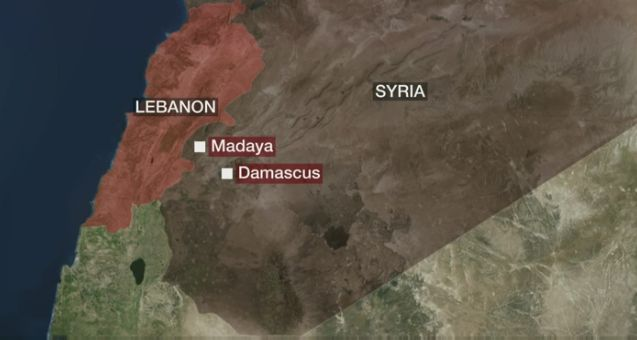 Madaya siege starvation.