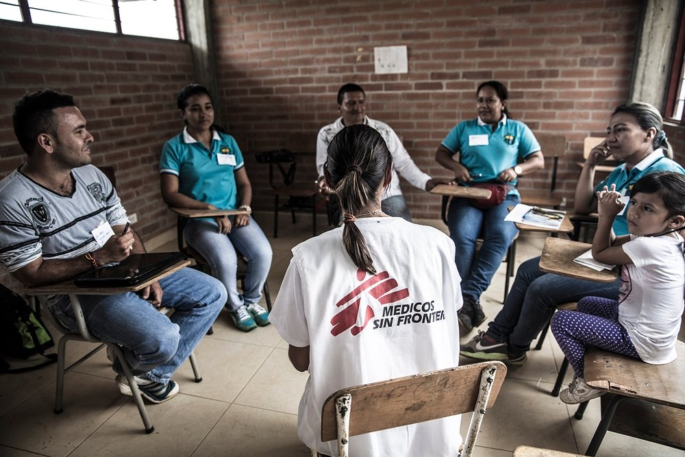 Mental Health in Colombia. Photo: Anna Surinyach