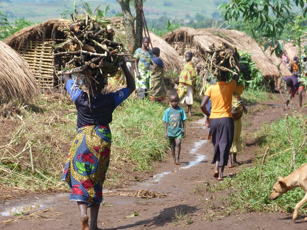 Even today, people are still displaced on a daily basis in the DRC. Photo: Louise Annaud