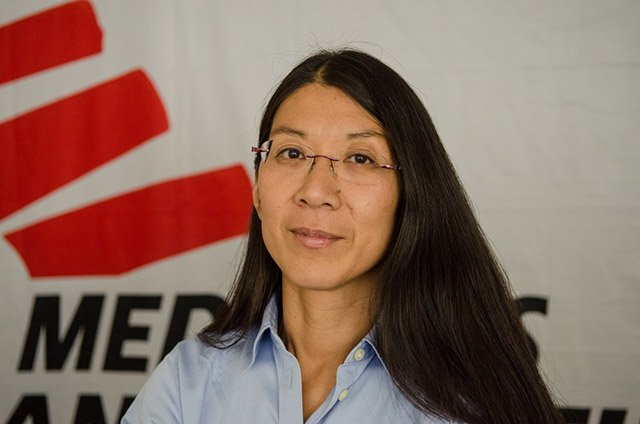 International President of MSF Dr. Joanne Liu