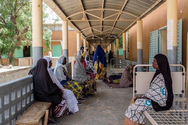 Ansongo hospital, Gao region, in northern Mali. Photo: Ramón Pereiro/MSF