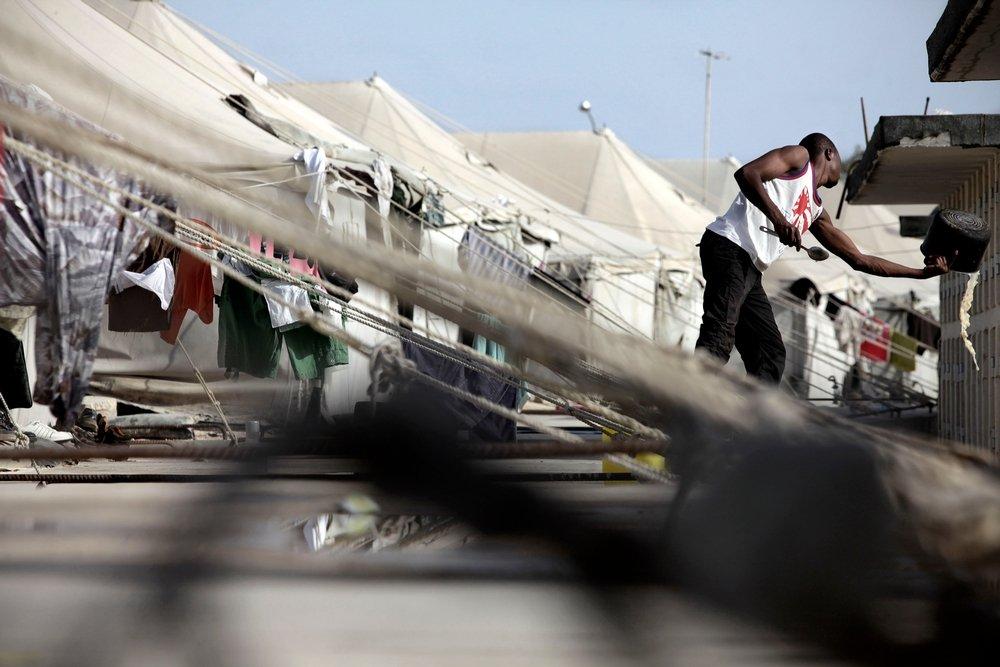 Malta's location in the Mediterranean Sea has made it a common port of disembarkation for migrants. Photo: Olmo Calvo