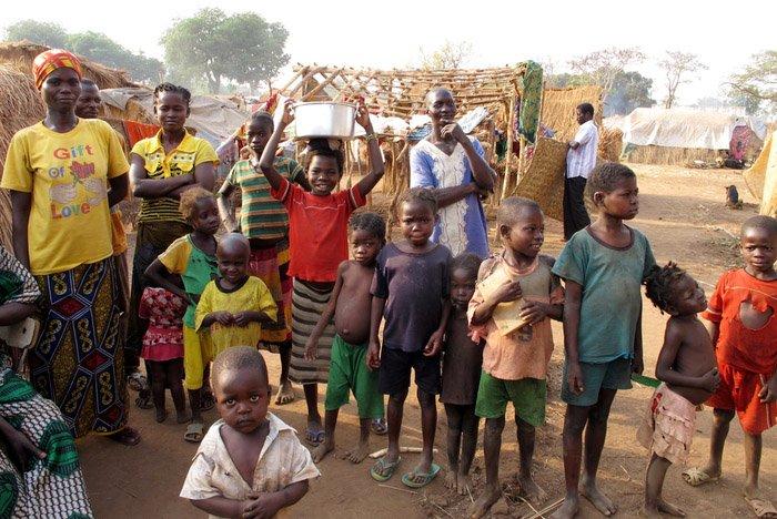 Kids in Batangafo IDP camp. Photo: Pau Miranda