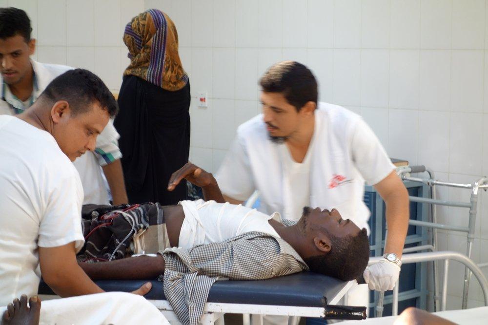 Emergency surgical Unit in Aden, Yemen. Photo: Benoit Finck