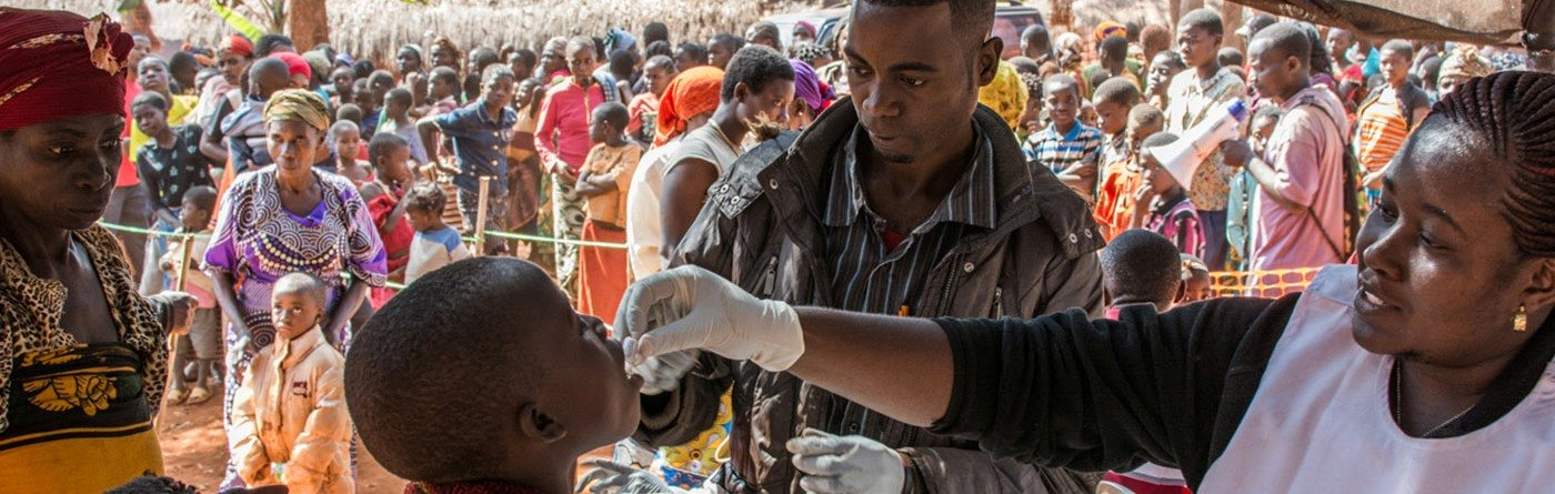 A cholera outbreak began among the refugees in mid-May. As at 22 June, some 3,086 cases and 34 deaths have been reported in Tanzania. Photo: Erwan Rogard/MSF