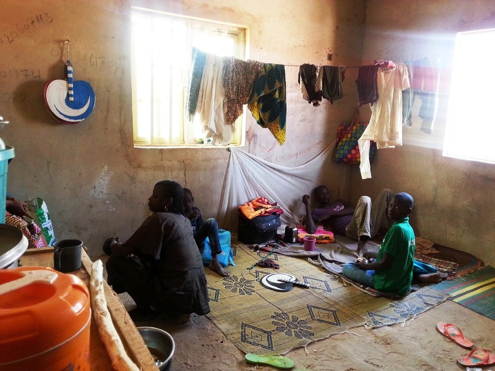 MSF continues its sanitarian and health surveillance/monitoring in 15 IDP camps. Photo: Michèle MARIETTE/MSF