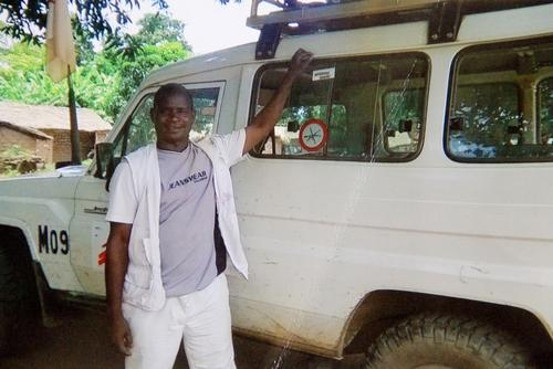 MSF staff member Arsène Bassanganam who was killed during an ambush attack in CAR, on Wednesday 18 May. Photo: MSF