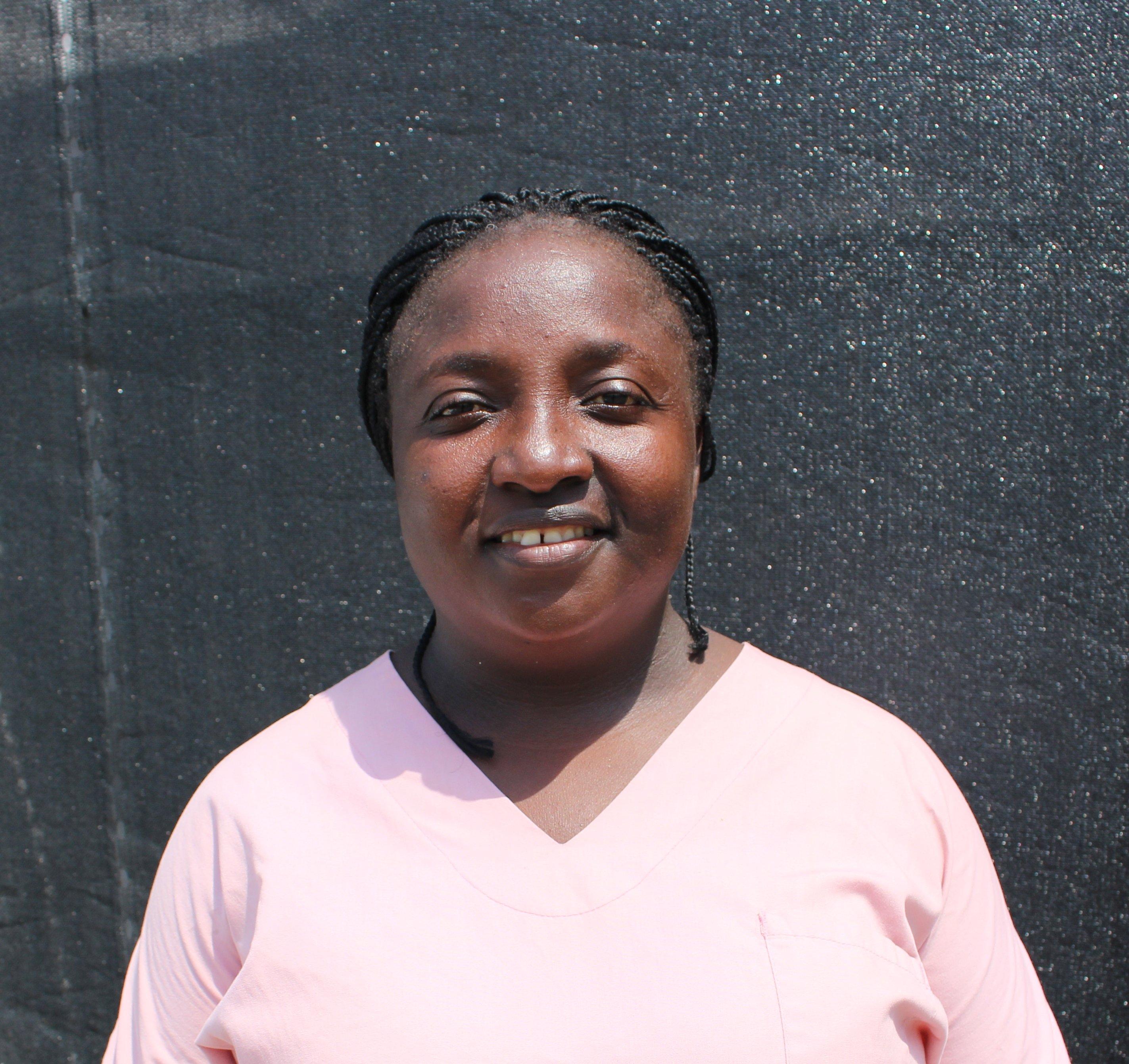 Amie Subah is an Ebola survivor from Monrovia, Liberia