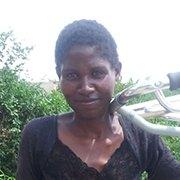 Virginia holding her walking frame. Photo: MSF