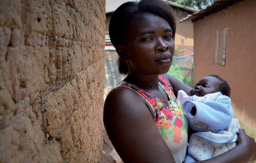 Maryse is 29. She delivered her baby in the MSF supported Castors hospital in Bangui, where care is provided for free. But prenatal care fees in her local health center got her into debt.