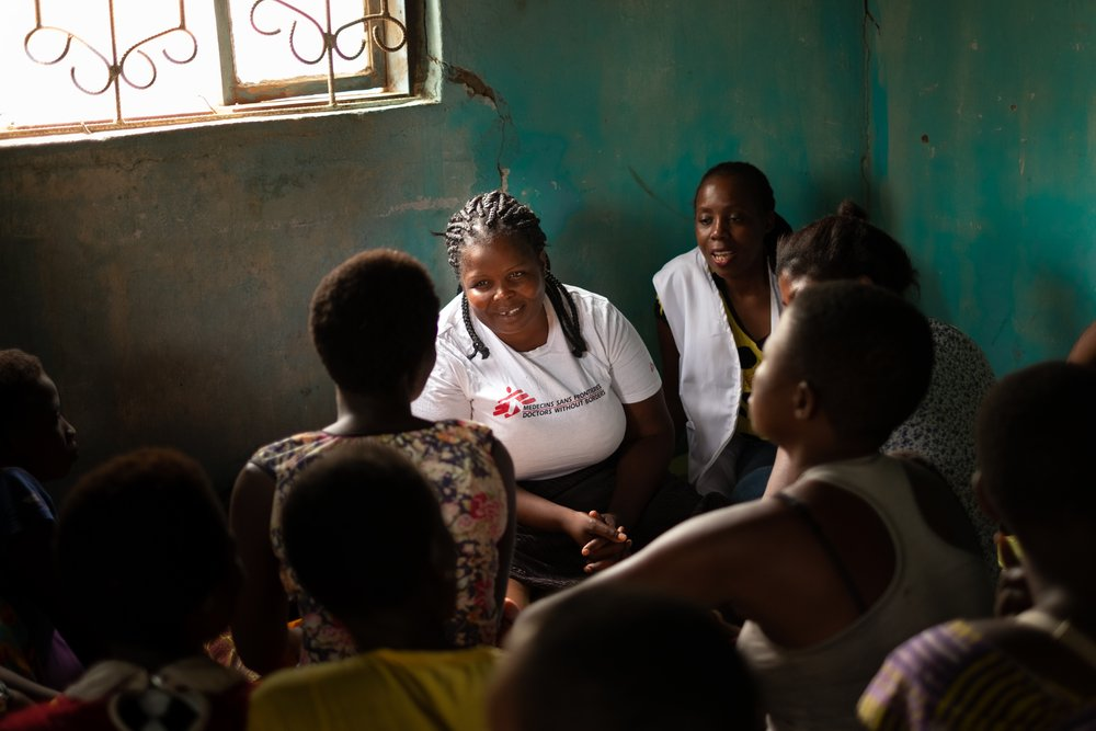 MSF, Doctors Without Borders, Coronavirus, COVID-19 on sexual reproductive health services on women