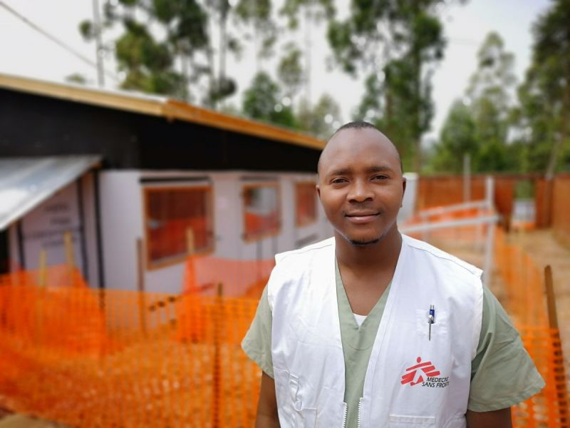MSF, Doctors Without Borders, DRC, Ebola