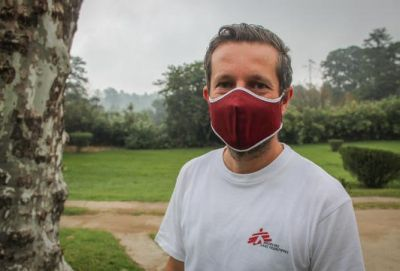 Bernhard Kerschberger, MSF head of mission in Eswatini