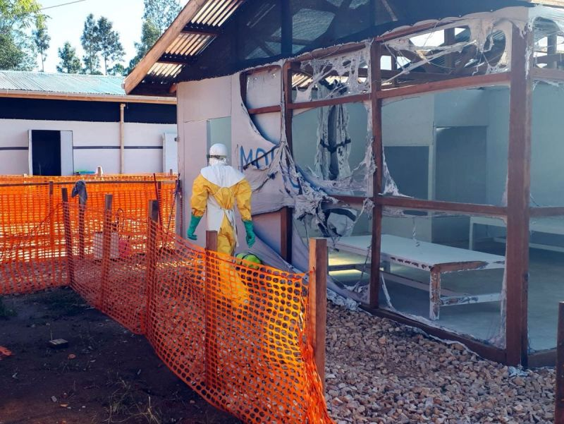 MSF, Doctors Without Borders, Ebola, Treatment, Centre, attack