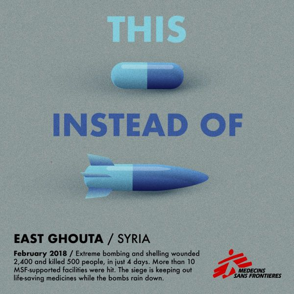 MSF, Doctors Without Borders, Syria, East Ghouta