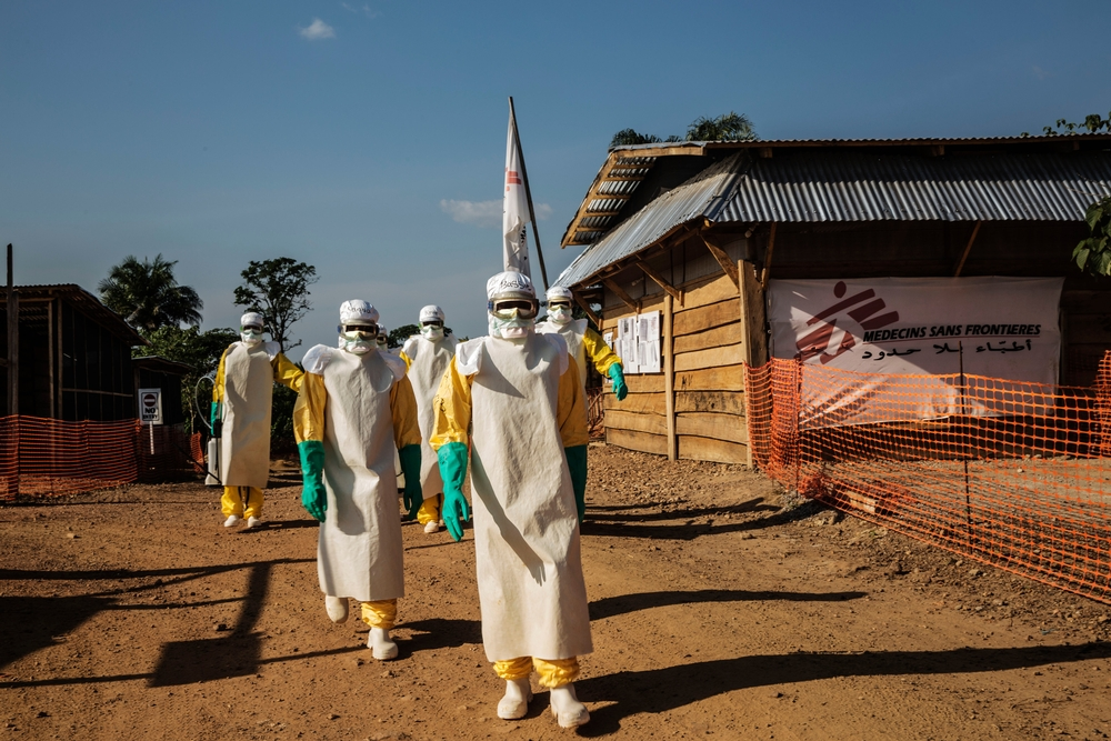 MSF, Doctors Without Borders, West Africa, COVID19, pandemic