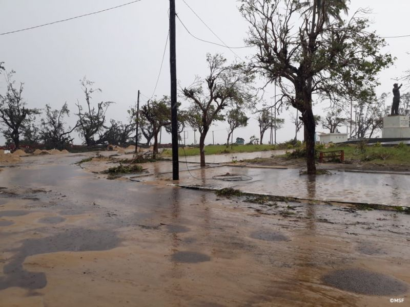MSF, Doctors Without Borders, Cyclone Idai, Southern Africa