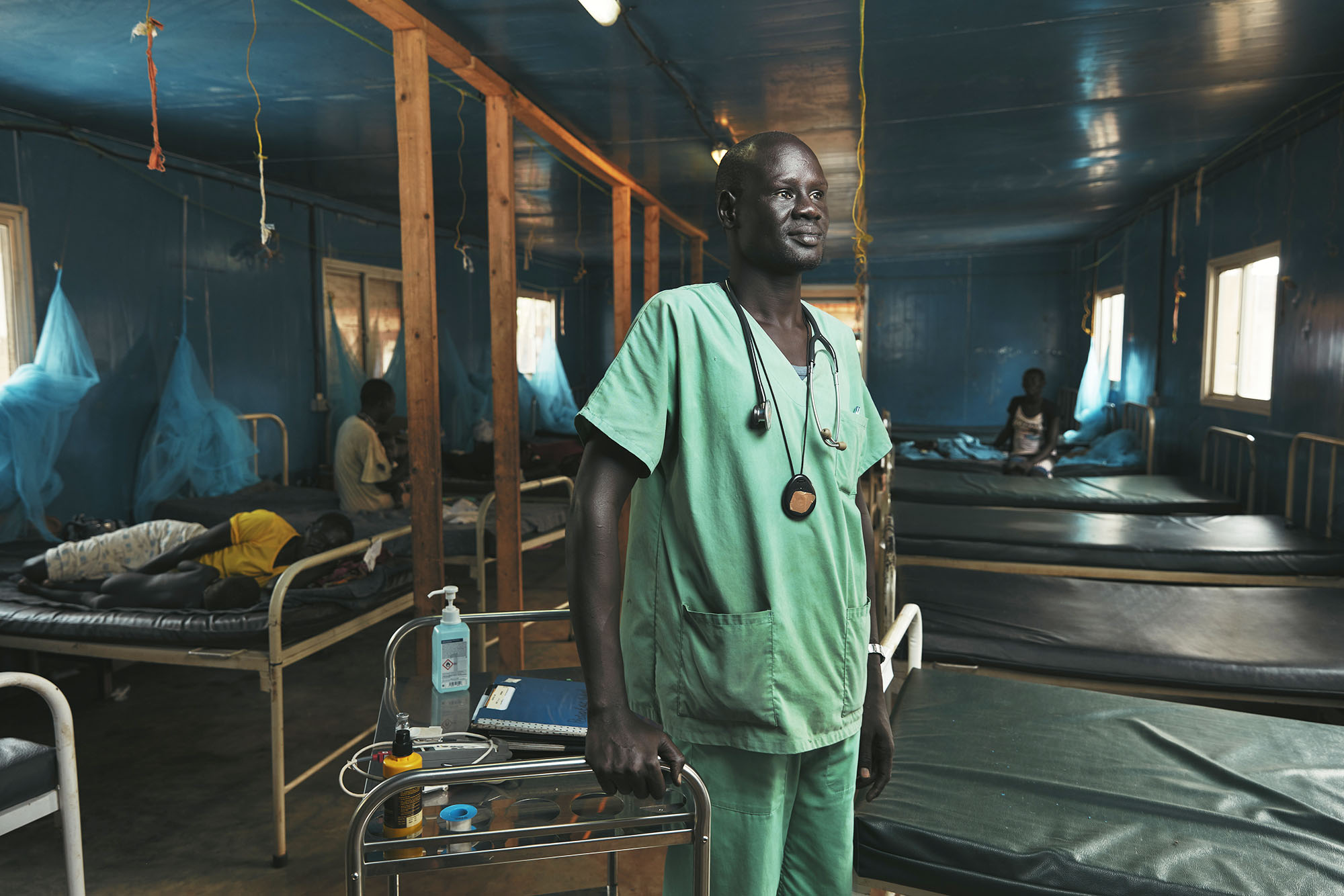 South Sudan Doctor Malnutrition