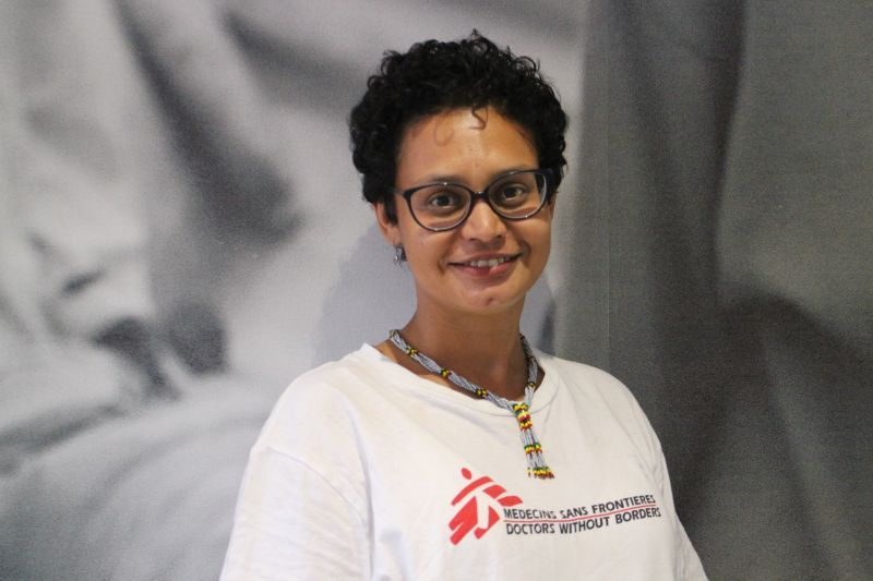 Cape Town emergency doctor Carissa Saunderson