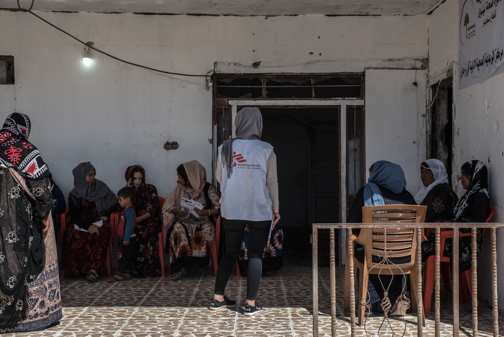 MSF, Doctors Without Borders, Iraq, Mental Health