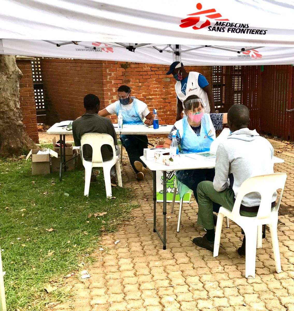 Joburg shelters for COVID