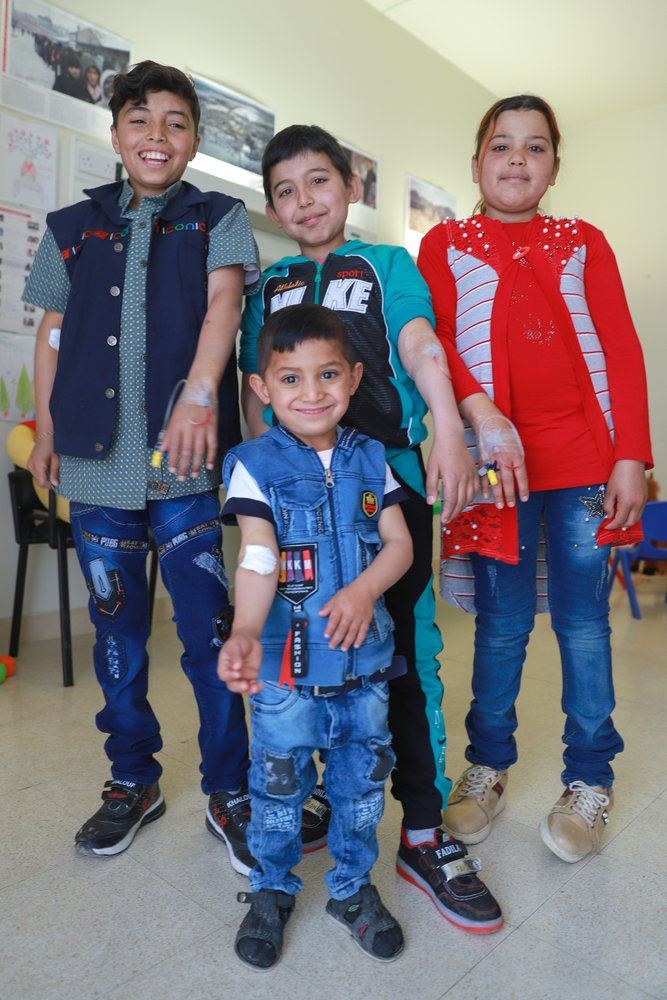 Lebanon children are being given hope of a future with this disease