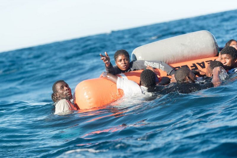 MSF, Doctors Without Borders, Aquarius returns to med sea