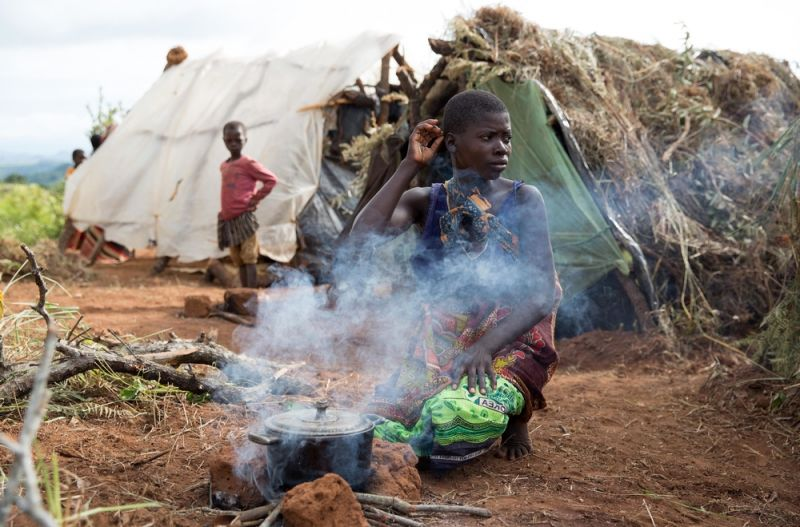 Mozambican refugees in Malawi