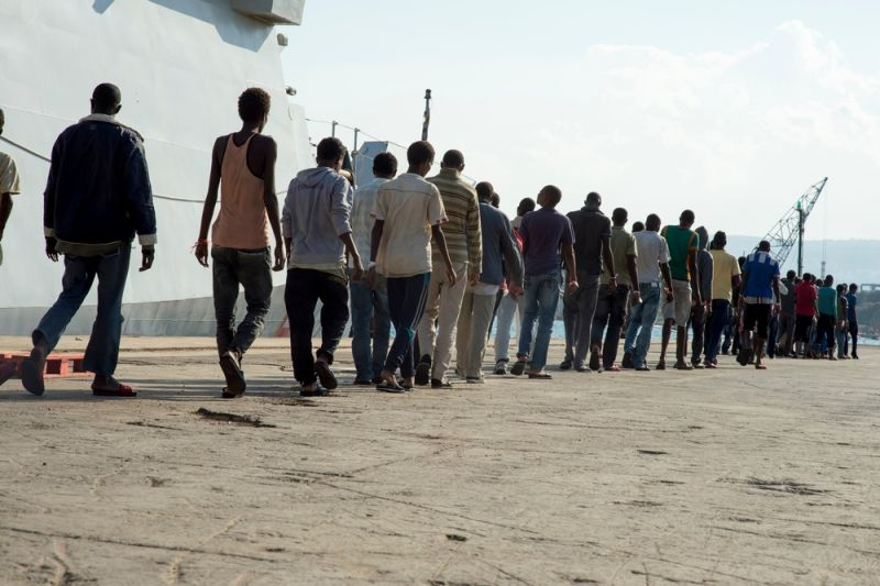 MSF, Doctors Without Borders, Migration is not a crime