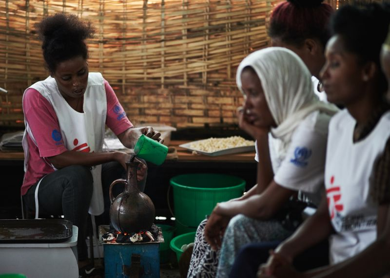 MSF, Doctors Without Borders, Ethiopia, Eritrean refugees
