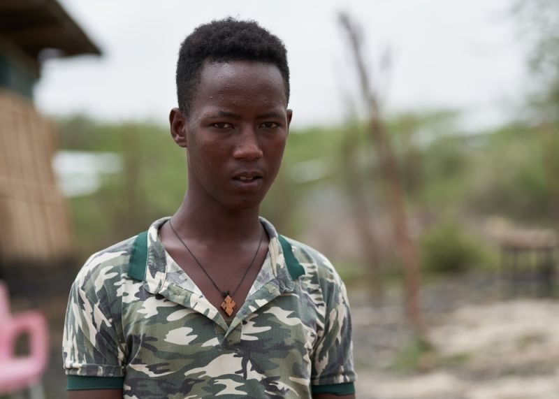 Ephraim, 17 years old and his mother Afu, 49 years old, are from Eritrea.