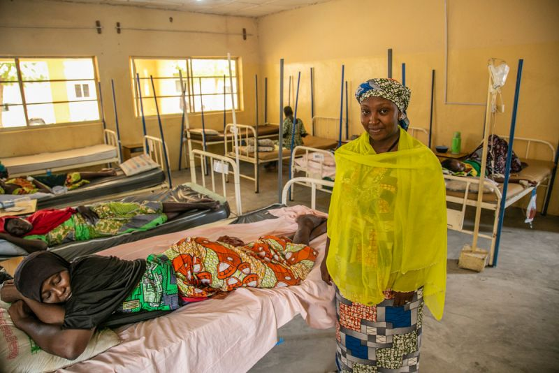 MSF, Doctors Without Borders, Nigeria, Borno State,
