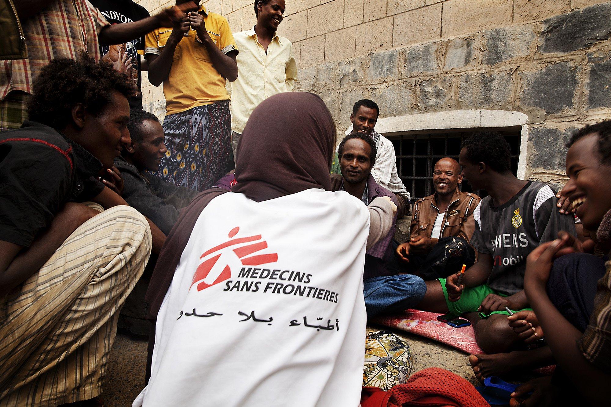 MSF supporting people in Aden, Yemen
