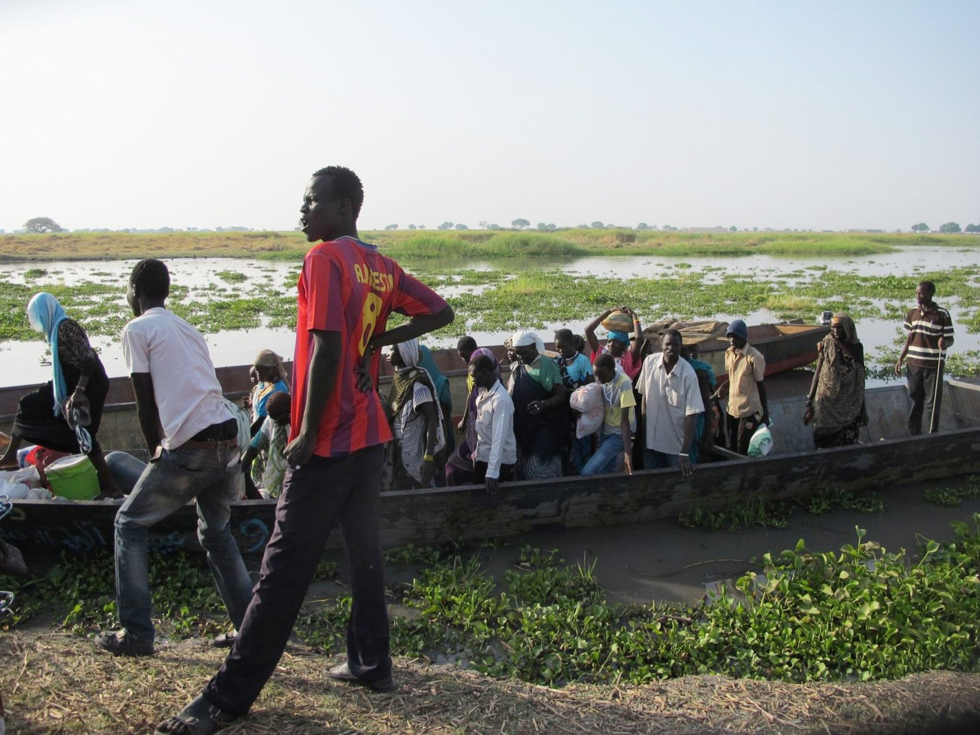 Continuing clashes in Upper Nile state leading to more deaths and displacements of people. Photo: Beatrice Debut