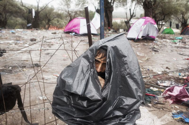 MSF, Doctors Without Borders, Greece, Refugees trapped in Moria