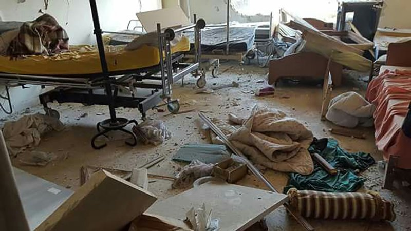 MSF, Doctors Without Borders, Syria, Hospital bombing