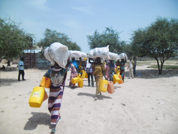 Non-Food Items distributions in Toumour, Niger