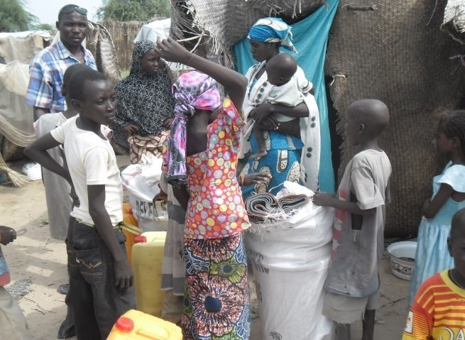Non-food items distribution in Toumour, Niger