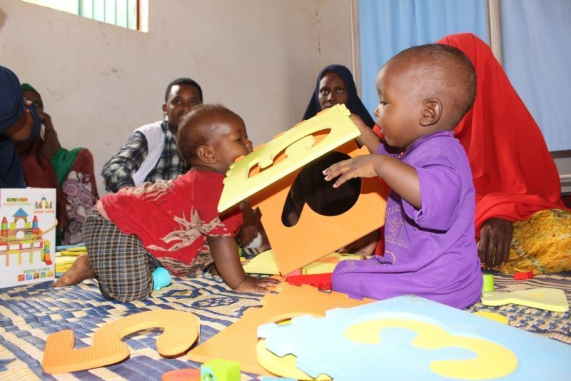 Community-based psychosocial activities to help children