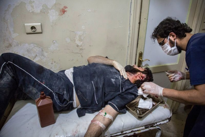 MSF, Doctors Without Borders,Hospital Bombings, domino effect