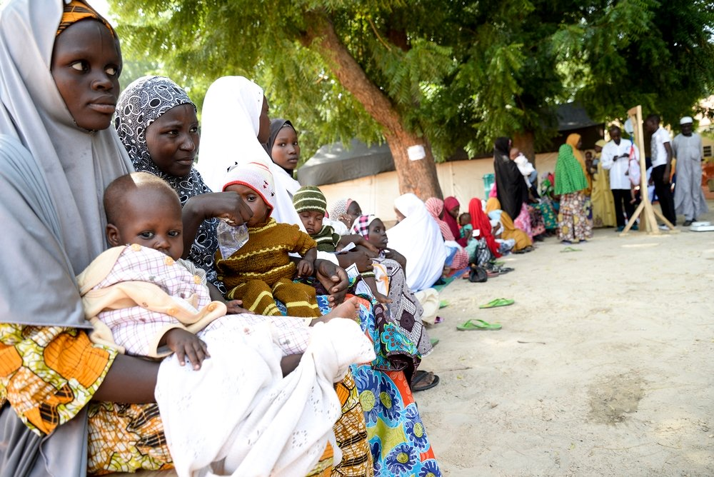 MSF supports therapeutic feeding program of the Department of Health in Gwange, Maiduguri.