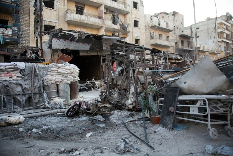 MSF, Doctors Without Borders, Syria, Hospital Bombings