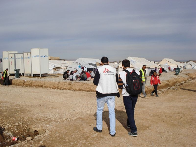 MSF, Doctors Without Borders, Iraq,