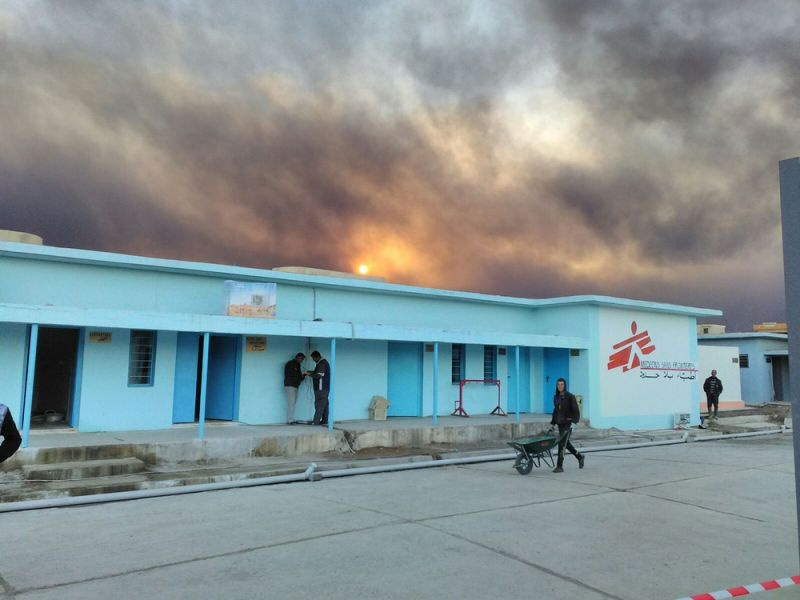 MSF, Doctors Without Borders, Mosul, Iraq