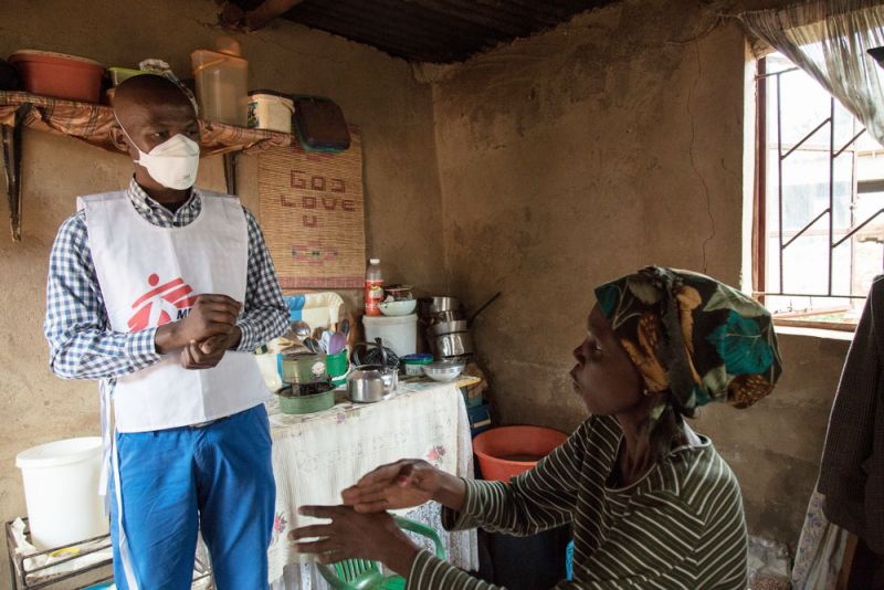 MSF, Doctors Without Borders, South Africa, TB, Trial