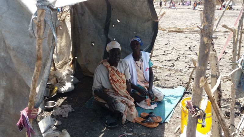 MSF, South Sudan, Refugees