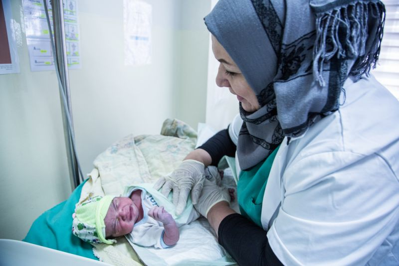 MSF, Iraq, Maternity clinic