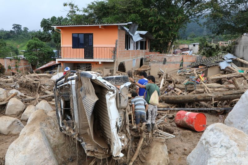 MSF, Doctors Without Borders, Colombia, Landslides