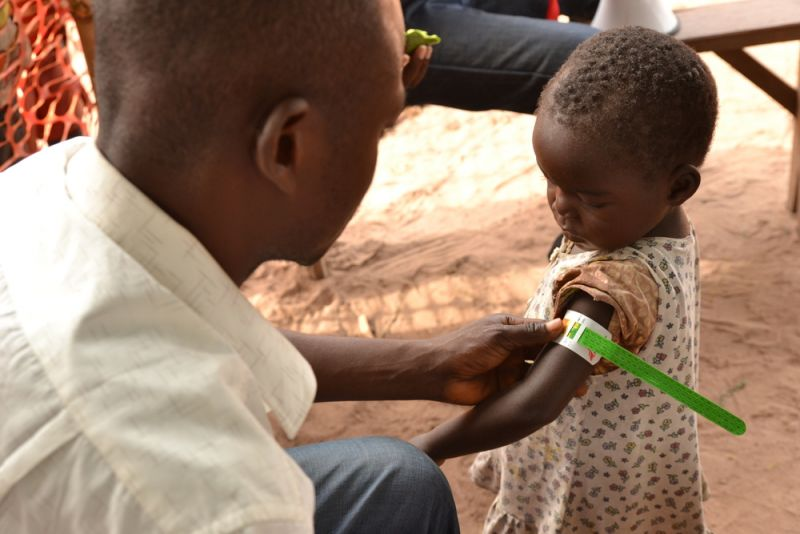 MSF, Doctors Without Borders, DRC, Measles